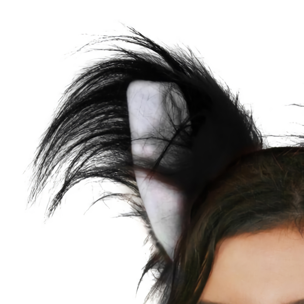 BLACK CAT EARS WITH DELUXE TAIL FLUFFY HEADBAND FANCY DRESS ACCESSORY FUR ANIMAL