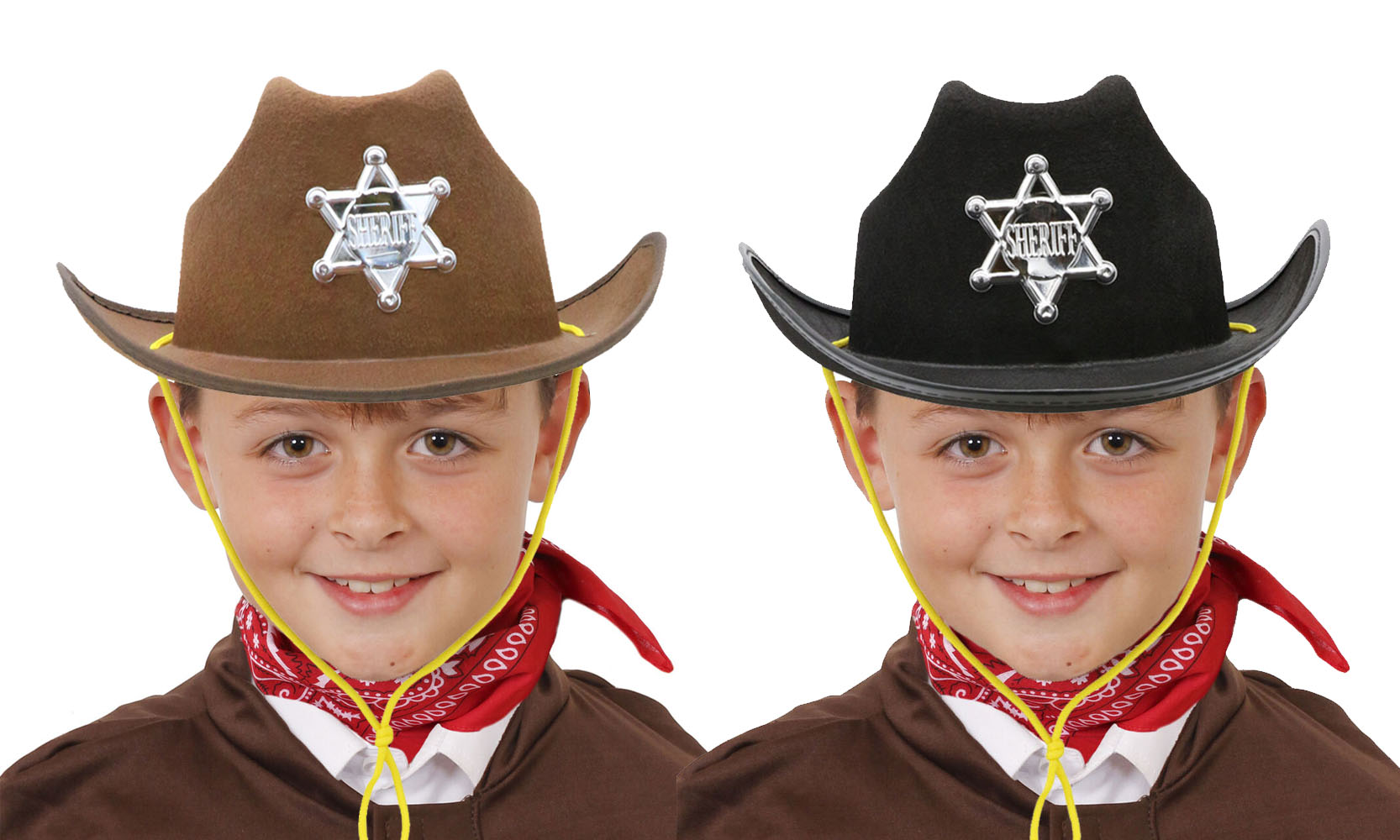 6 X GLITTER COWBOY HAT WILD WESTERN COWGIRL HEN STAG PARTY HOLIDAY CHOOSE COLOUR
